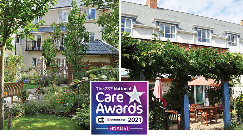 Braemar Lodge (left) and Kingfishers are both finalists in the annual National Care Awards.